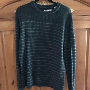 Original Penguin Gray Striped Sweater